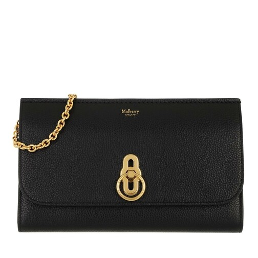 mulberry -  Clutches - Amberly Clutch Grained Leather - in schwarz - für Damen
