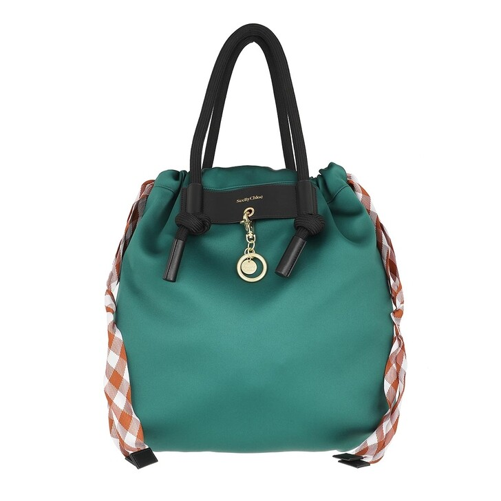 bags, See By Chloé, Beth Shopper Night Forest