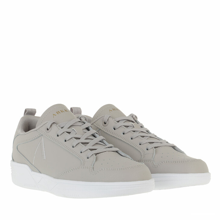 Schuh, ARKK Copenhagen, Visuklass Leather S-C18 Sneakers Dove White
