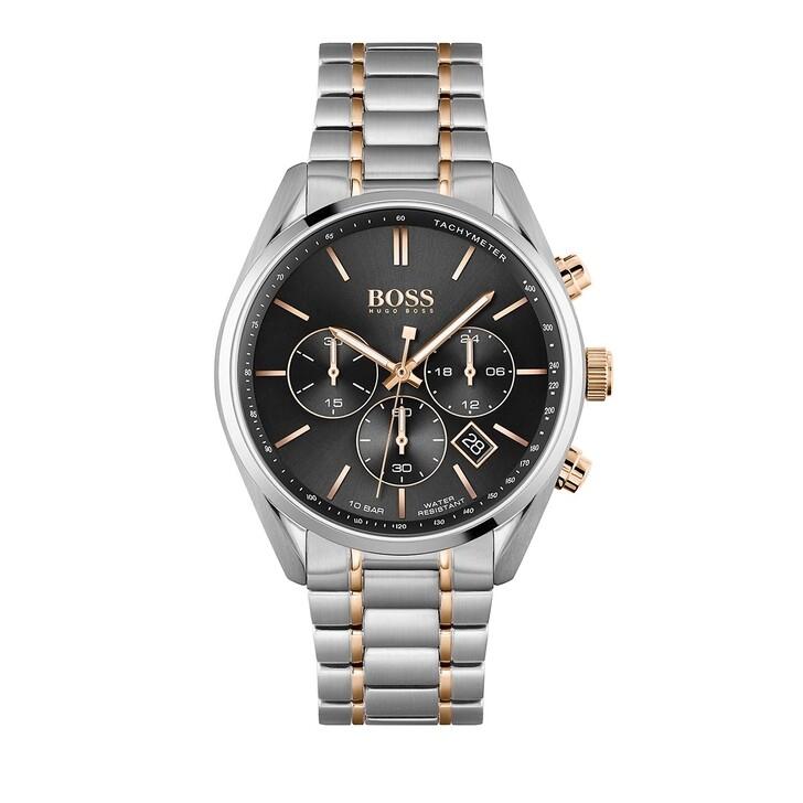 watches, Boss, Champion Watch Silver