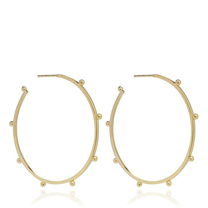 Ohrring, Rachel Jackson London, Punk Oversized Hoops Gold