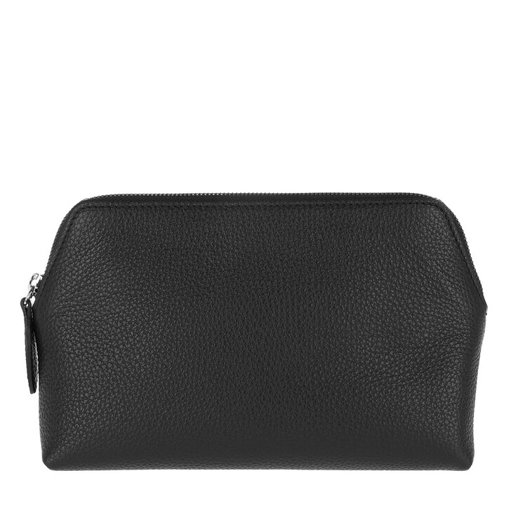 Necessaire, Abro, Nos Make Up Bag Black Nickel