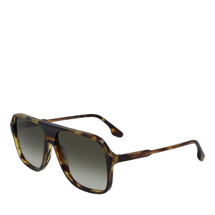 Sonnenbrille, Victoria Beckham, VB615S GREEN TORTOISE