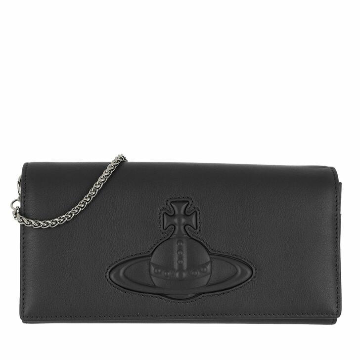 Geldbörse, Vivienne Westwood, Chelsea Long Wallet With Long Chain Black