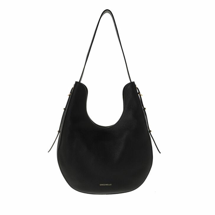 Handtasche, Coccinelle, Bagatelle Soft Shopper Noir
