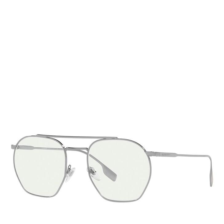 Brillen mit Gläsern, Burberry, Blue Blocker 0BE3126 Gunmetal
