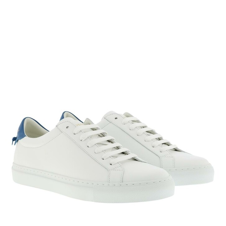 Schuh, Givenchy, Urban Sneakers Calf Leather White/Blue