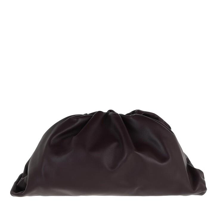 Handtasche, Bottega Veneta, Pouch Bag Leather Grape