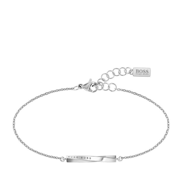 Armreif, Boss, Signature Bracelet Silver