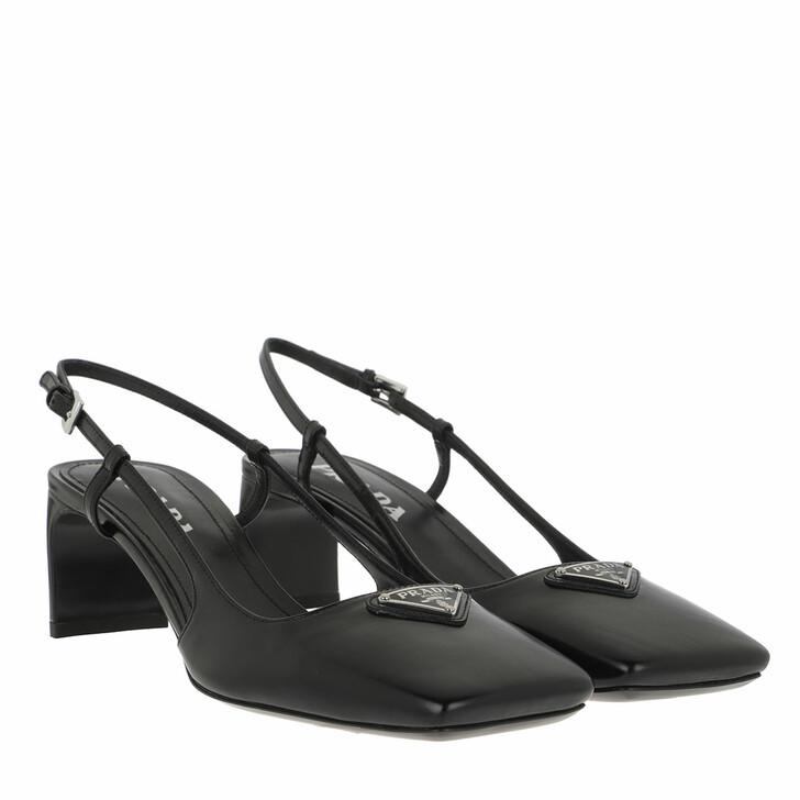 Schuh, Prada, Pumps Leather Black