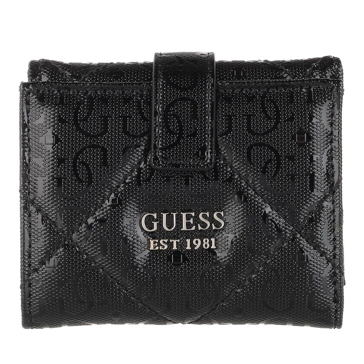 Geldbörse, Guess, Dilla Petite Trifold Wallet Black