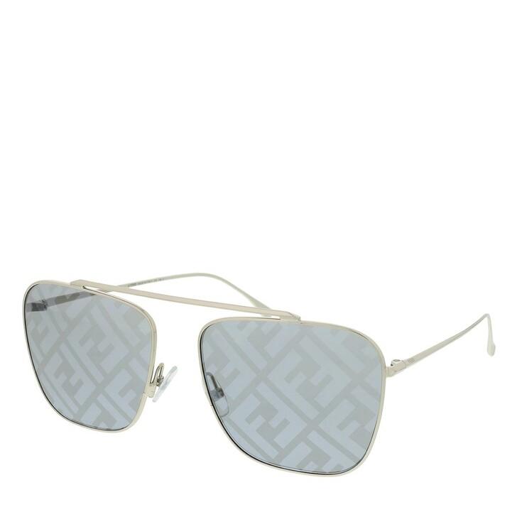 Sonnenbrille, Fendi, FF 0406/S Sunglasses Gold Grey