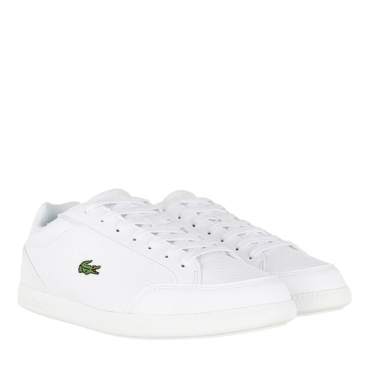 Schuh, Lacoste, Graduate Cap Sneakers White