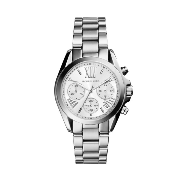 Uhr, Michael Kors, Mini Bradshaw Silver-Tone Watch