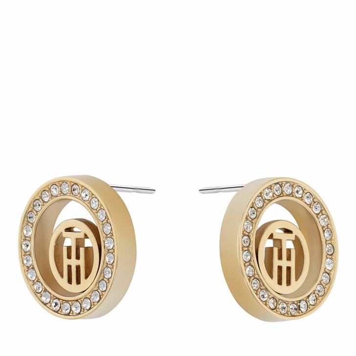 earrings, Tommy Hilfiger, Earrings Gold