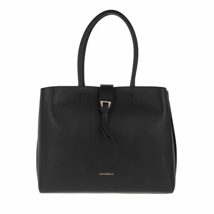 bags, Coccinelle, Alba Shopper Noir