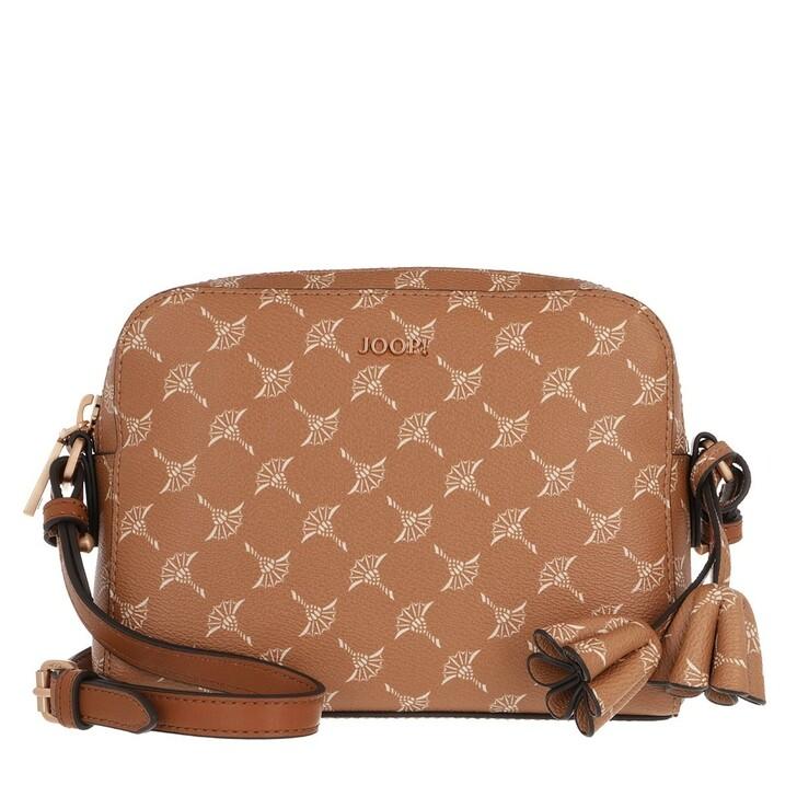 Handtasche, JOOP!, Cortina Cloe Shoulderbag Cognac