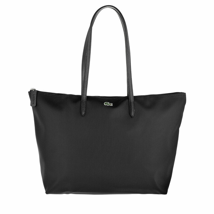 Handtasche, Lacoste, Large Shopping Bag Black