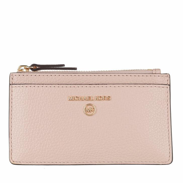 Geldbörse, MICHAEL Michael Kors, Small Slim Card  Soft Pink