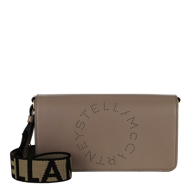 Handtasche, Stella McCartney, Mini Crossbody Bag Eco Soft Alter Leather Moss