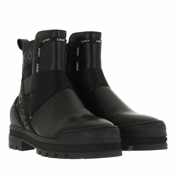 shoes, LIU JO, Kelly 07  Bootie Black