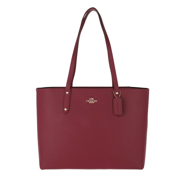 Handtasche, Coach, Womens Bags Totes  Red