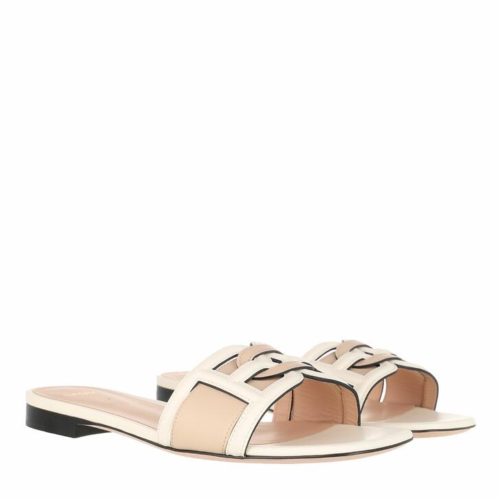 Schuh, Bally, Peoni Flat Sandals Bone