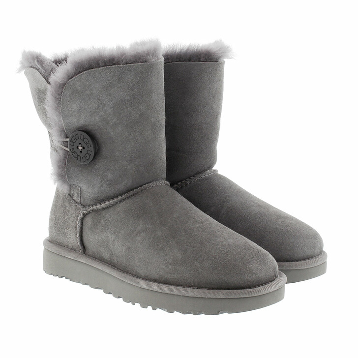 Schuh, UGG, W Bailey Button II Grey