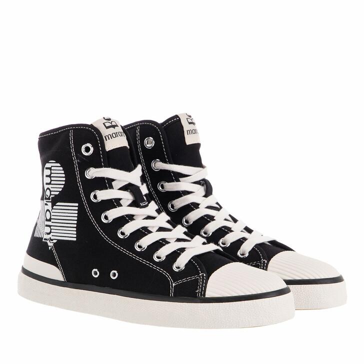shoes, Isabel Marant, Benkeen High Top Sneaker Black