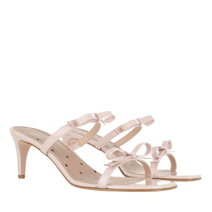 shoes, Red Valentino, Mules Nude