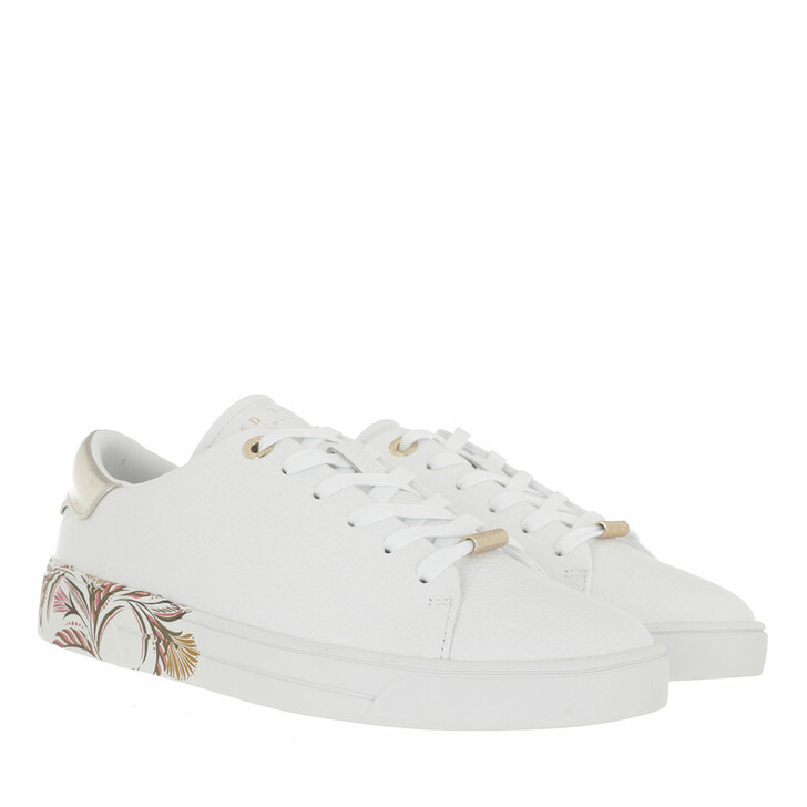 Schuh, Ted Baker, Tiriey Deco Printed Sole Trainer White