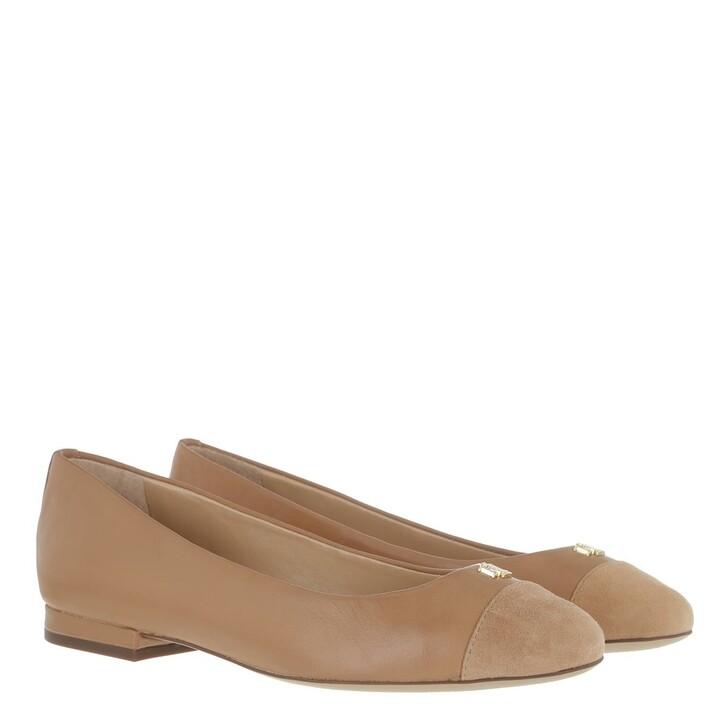 shoes, Lauren Ralph Lauren, Gaines Flats Casual Nude/Nude