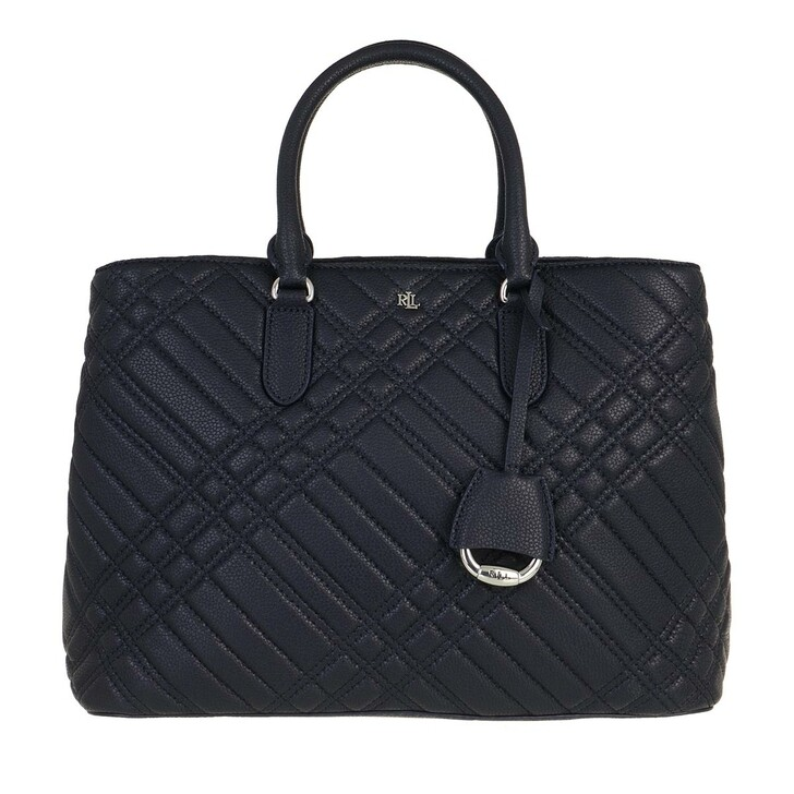 Handtasche, Lauren Ralph Lauren, Marcy Satchel Large Lauren Navy