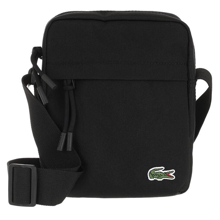 bags, Lacoste, Men Crossover Bag Noir