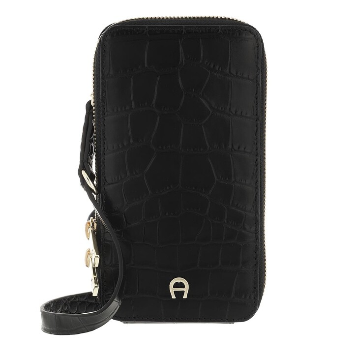 smart_cases, AIGNER, Fashion Mobile Case Black