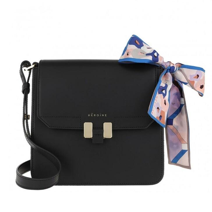 bags, Maison Hēroïne, Tilda Tablet Mini Shoulder Bag Set Black Lavagna