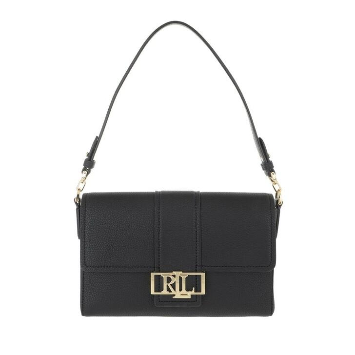 Handtasche, Lauren Ralph Lauren, Spencer 25 Shoulder Medium Black