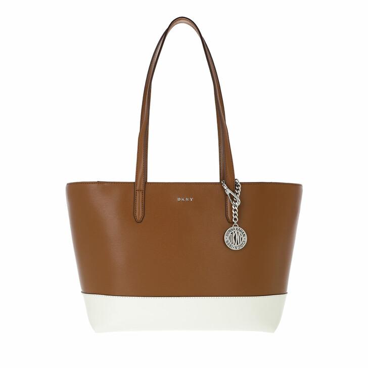 Handtasche, DKNY, Bryant Medium Tote Coffee White
