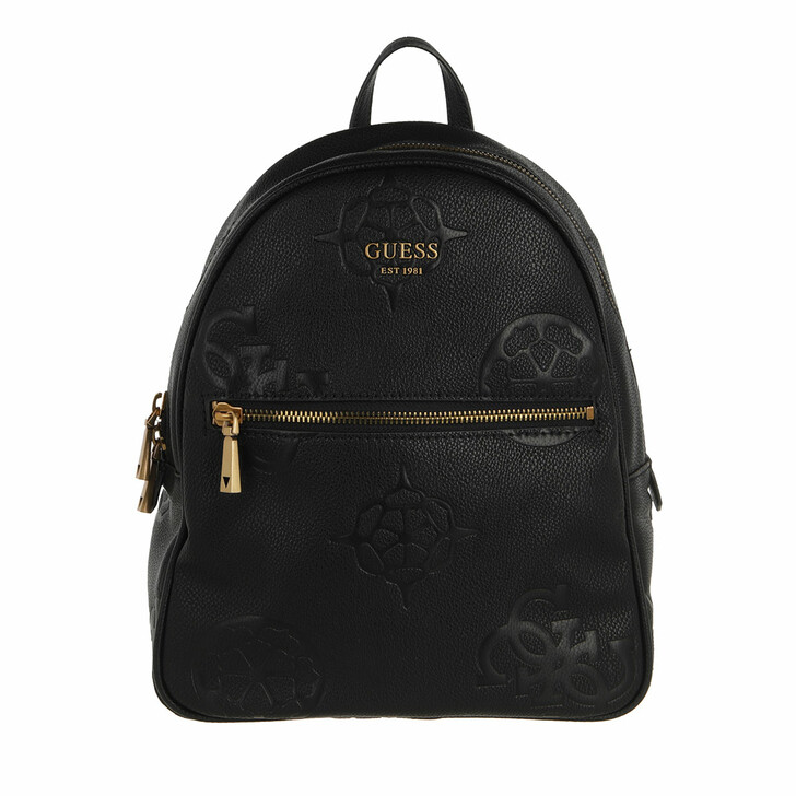bags, Guess, Vikky Backpack Black