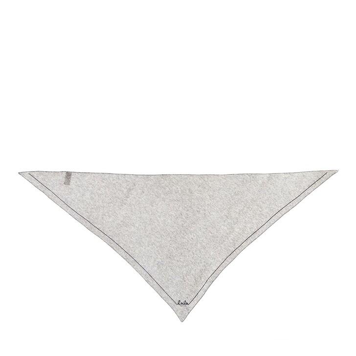 Schal, Lala Berlin, Triangle Solid Logo M Scarf Flanella