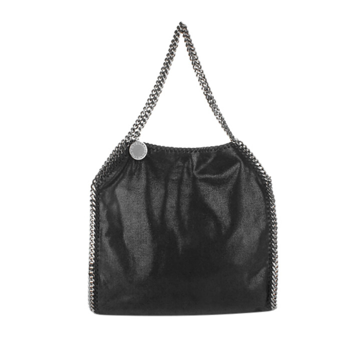 Handtasche, Stella McCartney, Falabella Shaggy Deer Small Tote Black