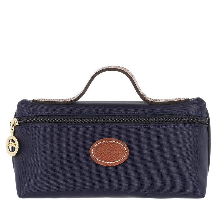 bags, Longchamp, Le Pliage Original Pochette   Navy