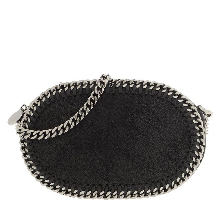 Handtasche, Stella McCartney, Falabella Zip Shoulder Bag Shaddy Deer Black