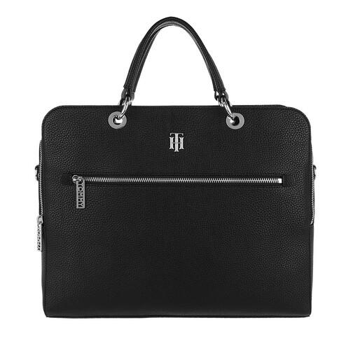 tommy hilfiger -  Laptoptaschen - TH Essence Computer Bag - in schwarz - für Damen