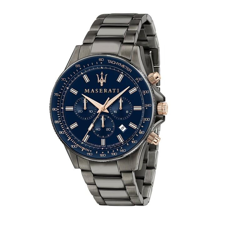 Uhr, Maserati, Watch Sfida 44mm Gunmetal