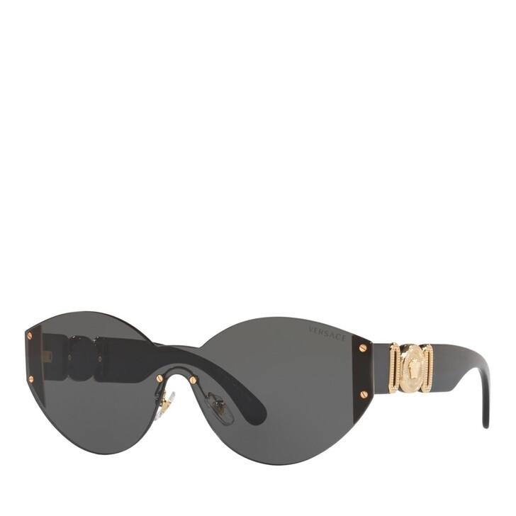 Sonnenbrille, Versace, METALL WOMEN SONNE GOLD