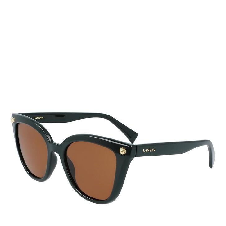 Sonnenbrille, Lanvin, LNV602S DARK GREEN