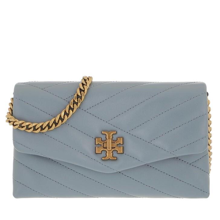 bags, Tory Burch, Kira Chevron Crossbody Bag Rainwater Dark Gold