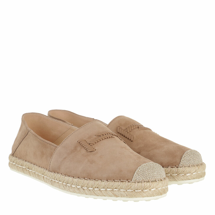 Schuh, Tod's, Espadrilles Suede Leather Beige