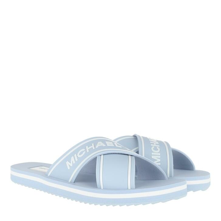 shoes, MICHAEL Michael Kors, Sparrow Slide Pale Ocean